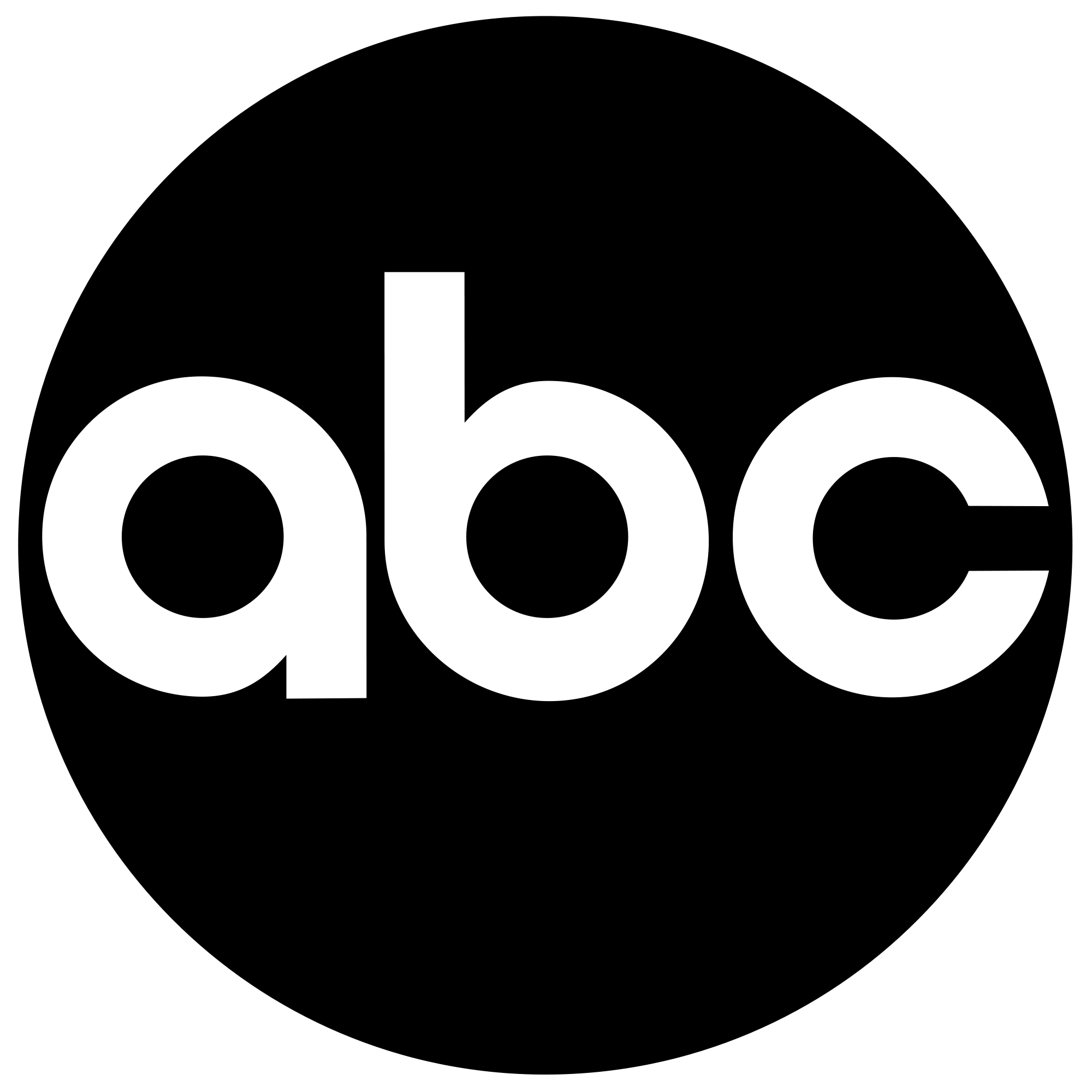 abc logo black